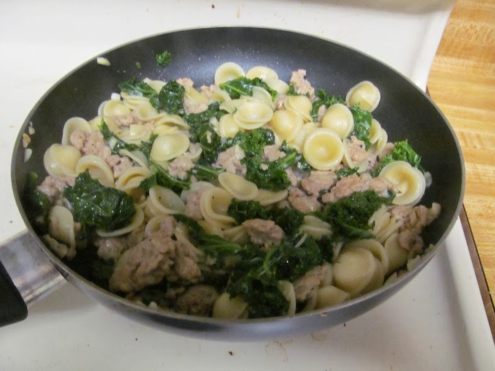 ... Gourmet Adventures: My First 5 in 5: Orecchiete with Sausage and Kale