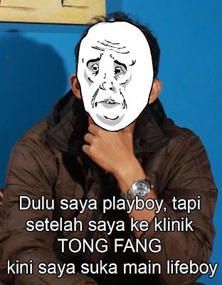 gambar-gambar lucu iklan klinik Tong Fang Semoga terhibur Hahahahahaha