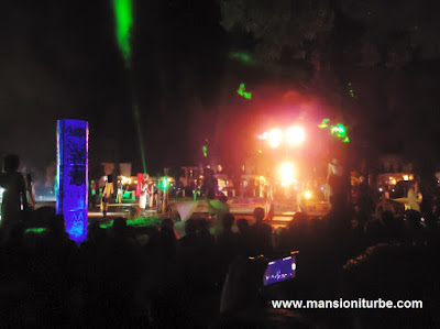 "Pátzcuaro lights and sound show ""Yo Soy Pátzcuaro"""