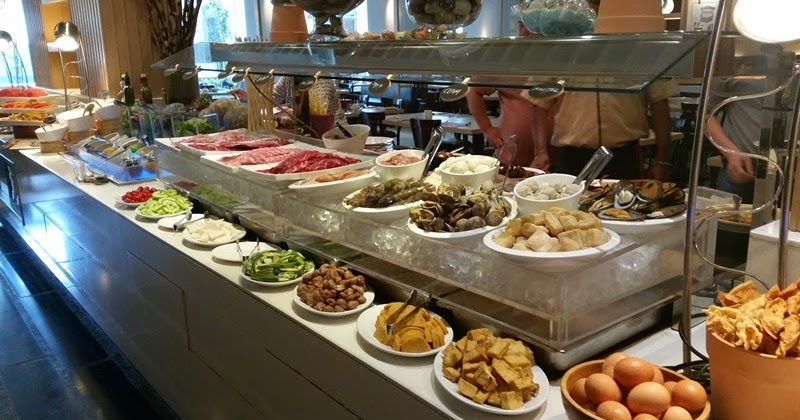 Inside Joy's World: Steamboat Buffet Lunch - Spice ...