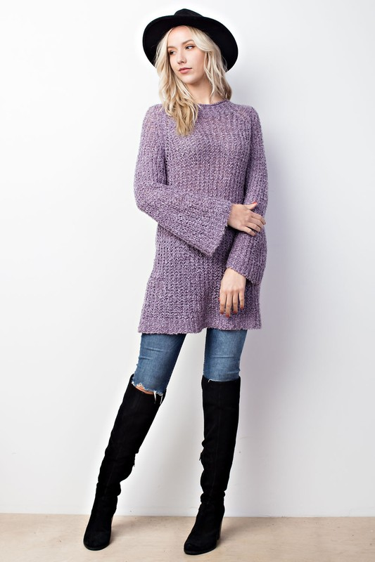 Loose Knit Tunic Sweaters