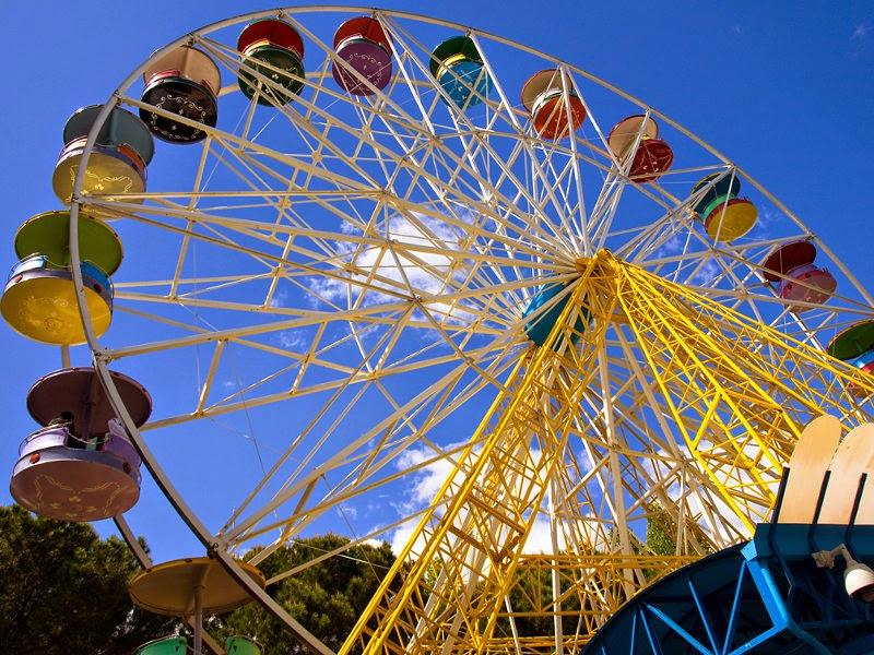Noria del Parque de Atracciones de Madrid