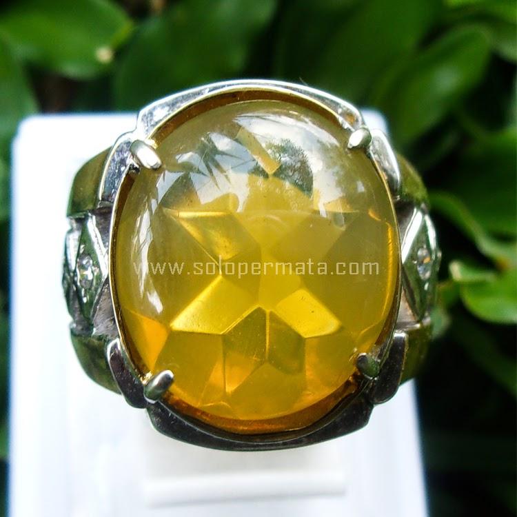 Cincin Batu Permata Fire Opal - SP561