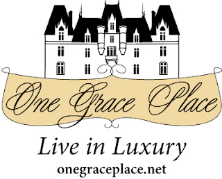 One Grace Place Logo with Slogan