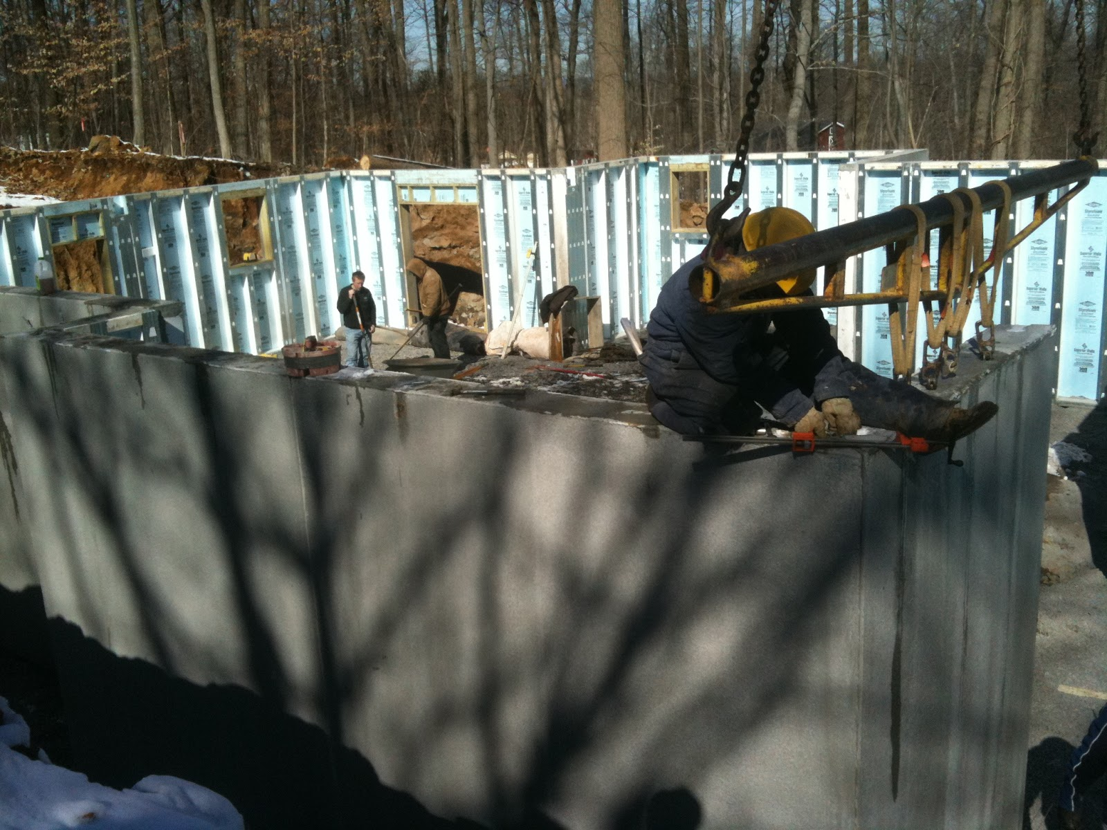 Superior walls below grade foundation exterior walls for Www superiorwalls com