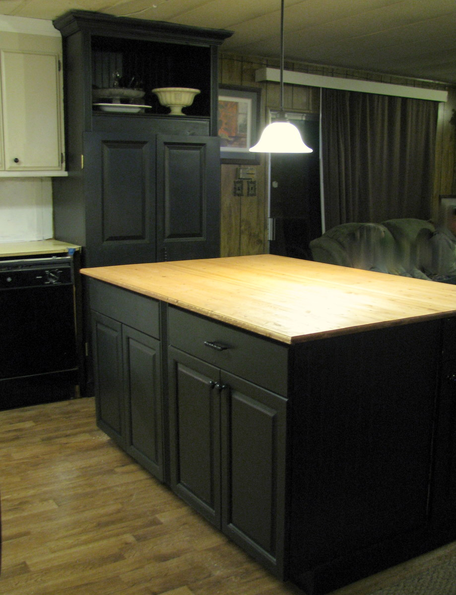 Blue Roof Cabin Kitchen Makeover For Sis Part Two The