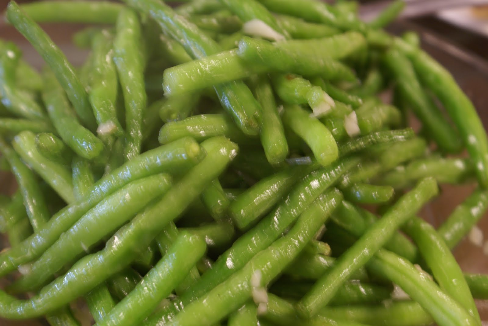 Garlic Green Beans | Champaign IL Golden Harbor Authentic Chinese ...