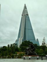 Pyongyang Hotel Pyramid
