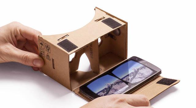game dan aplikasi google cardboard