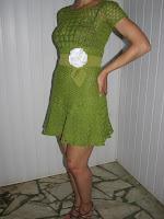 Вязаное крючком платье на заказ Ставрополь