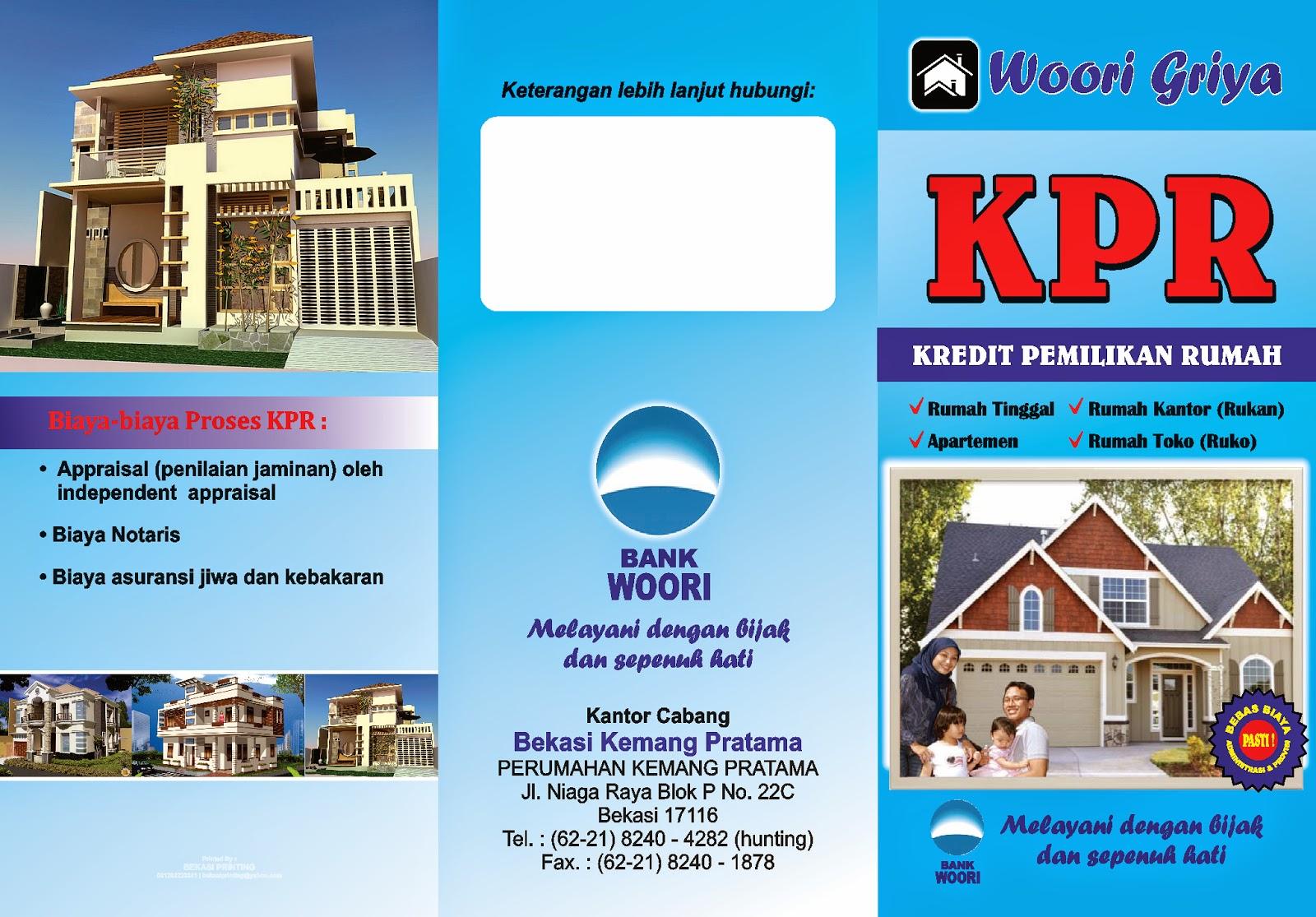 Brosur Kredit Pemilikan Rumah