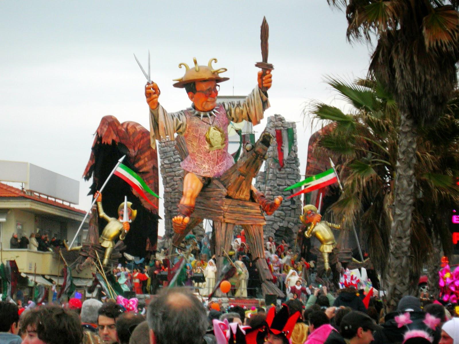 Viareggio Carnival in 2007