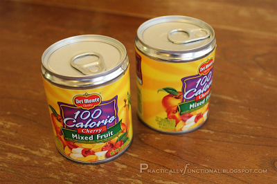 Mixed fruit pop tab cans