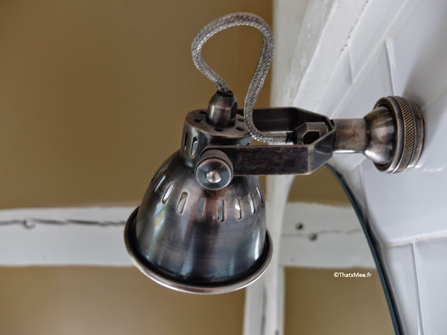 déco industrielle lampe applique métal