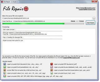 Cara Memperbaiki File Yang Rusak
