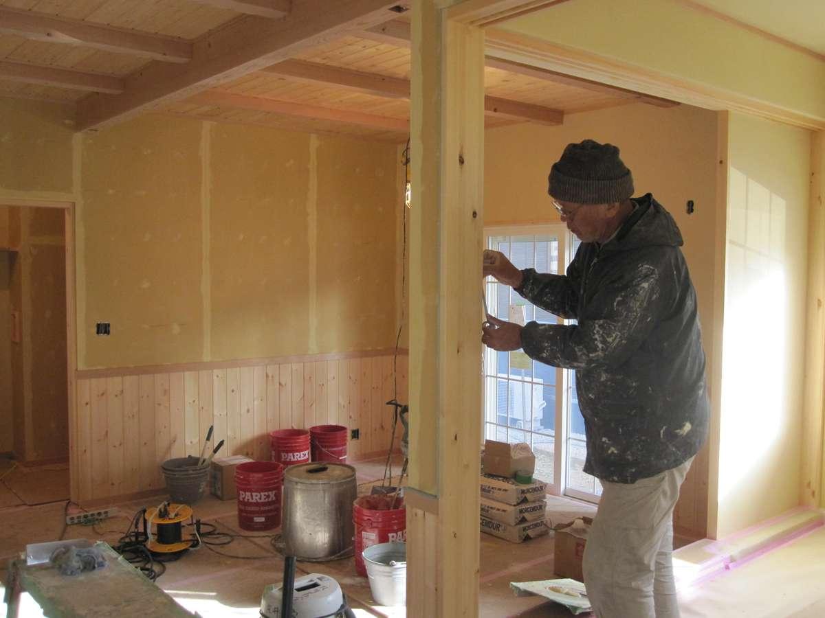 地熱の家、新築間取りプラン