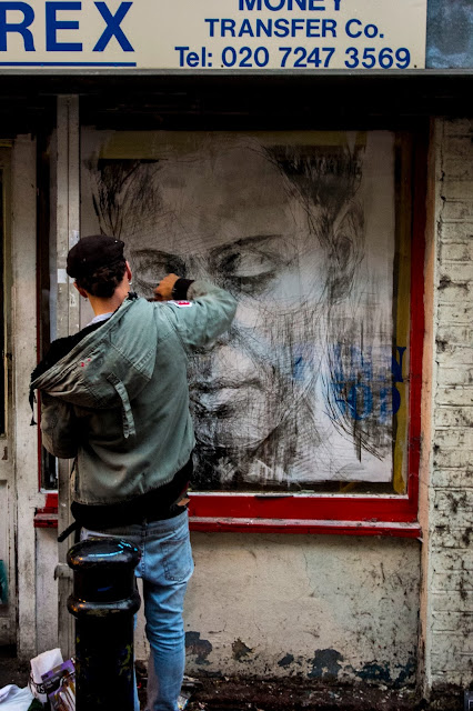 Street Art By Spanish Artist On The Streets Of East London, UK. 5