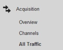 monitor traffic on google analytics
