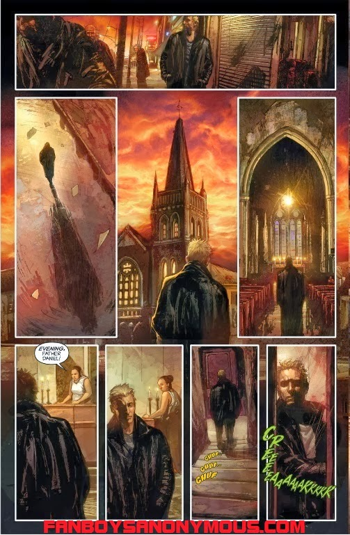 John Carpenter's Asylum comic reminiscent of classic horror