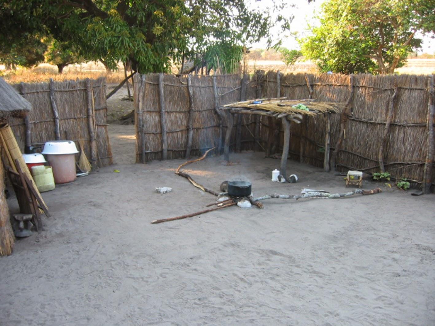 Kitchen in the village