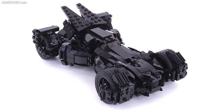 custom lego batman vs superman batmobile moc 2nd look. Black Bedroom Furniture Sets. Home Design Ideas