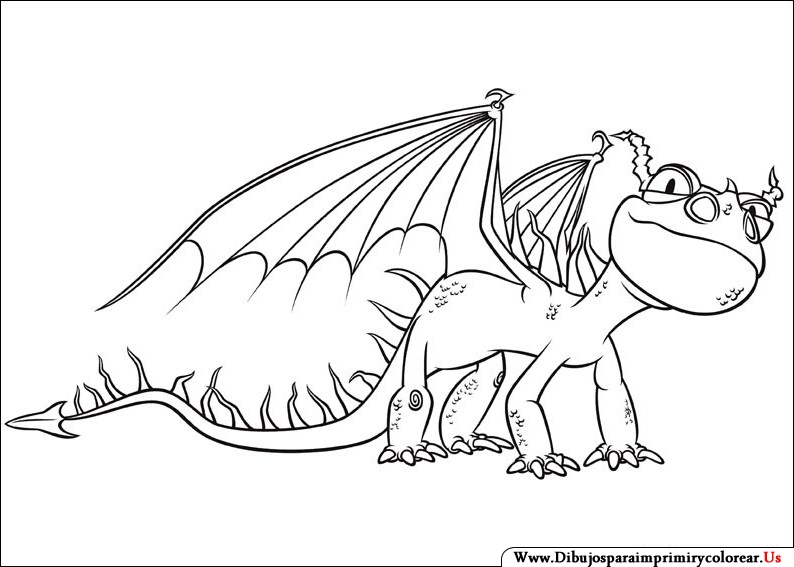 Dibujos para colorear de como entrenar a tu dragon 2 - Imagui