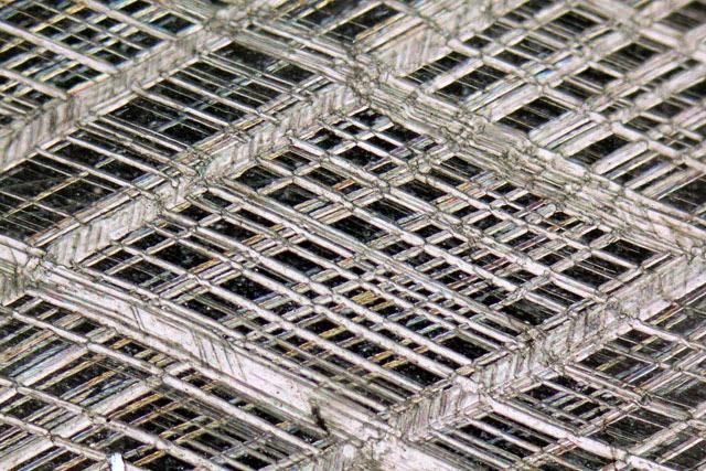 Structure d'un cristal de calcite Alessandro Da Mommio