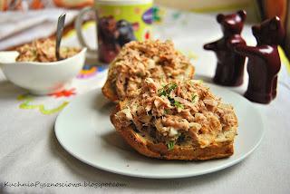 154. Prosta pasta kanapkowa z tuńczyka