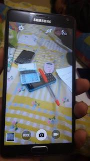hasil kamera belakang 16MP Samsung Galaxy Note 4 HDC replika