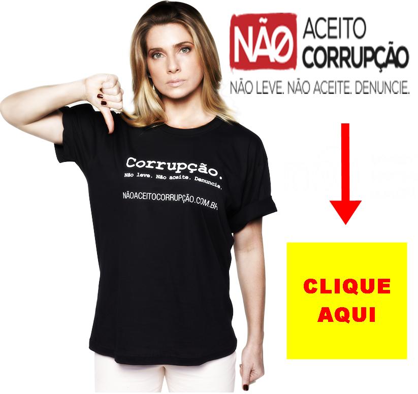 Colabore no combate à corrupção.