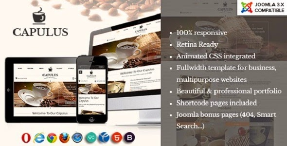 cafes website theme