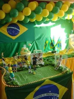 Imagens de Como Decorar Copa 2014