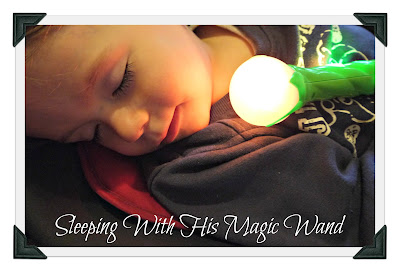 Lite Sprites, sleeping toddler, magic wand, dreams