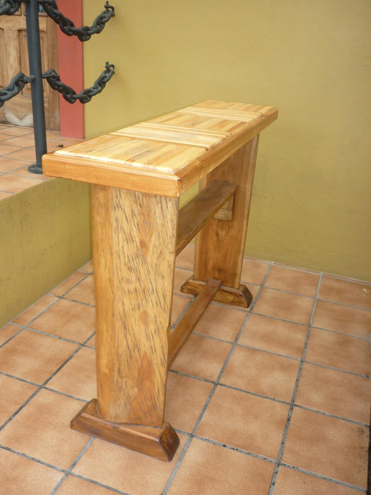 Artesan a decoraci n para bares mesones bodegas etc for Mesones de madera