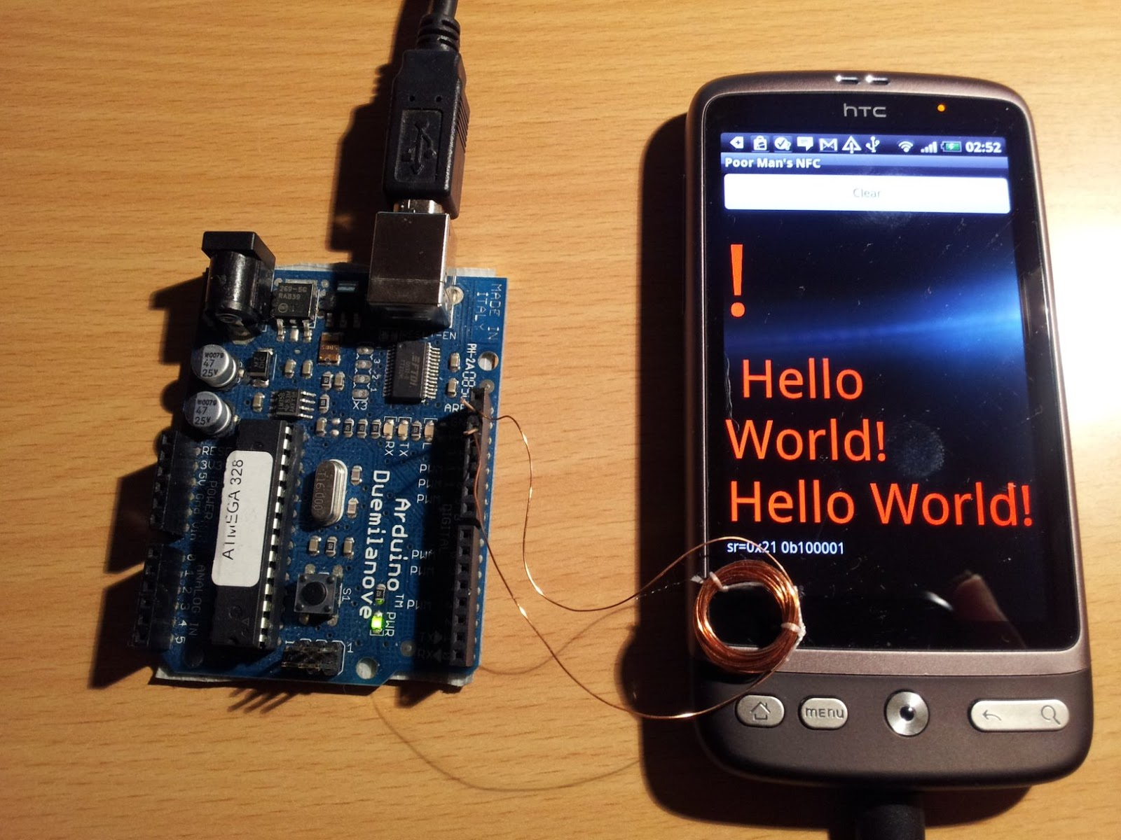 Random tech stuff arduino to android io on the cheap aka