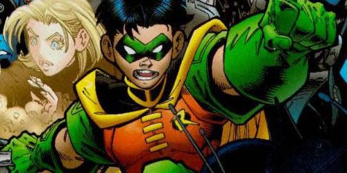 Tim Drake como Robin