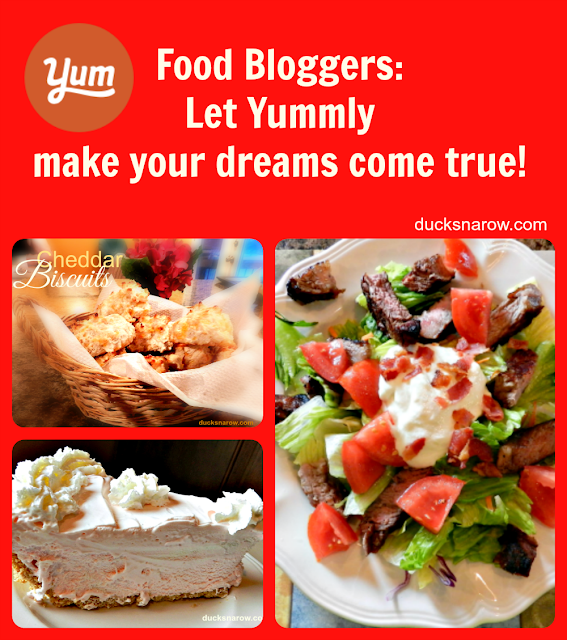 food blog, Yummly, recipes, blogging, blog trafic, cooking