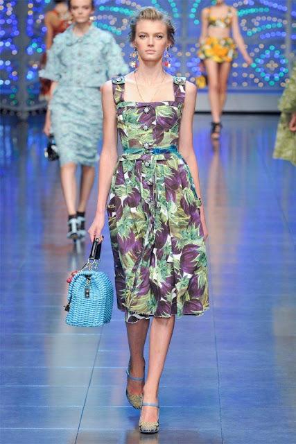 dolce gabbana14 - Dolce&Gabbana Ilkbahar 2012 | Milan Moda Haftas�