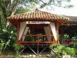 Construcciones en guadua kioscos for Disenos de kioscos de madera