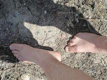 Barefoot Kids Yoga Outside
