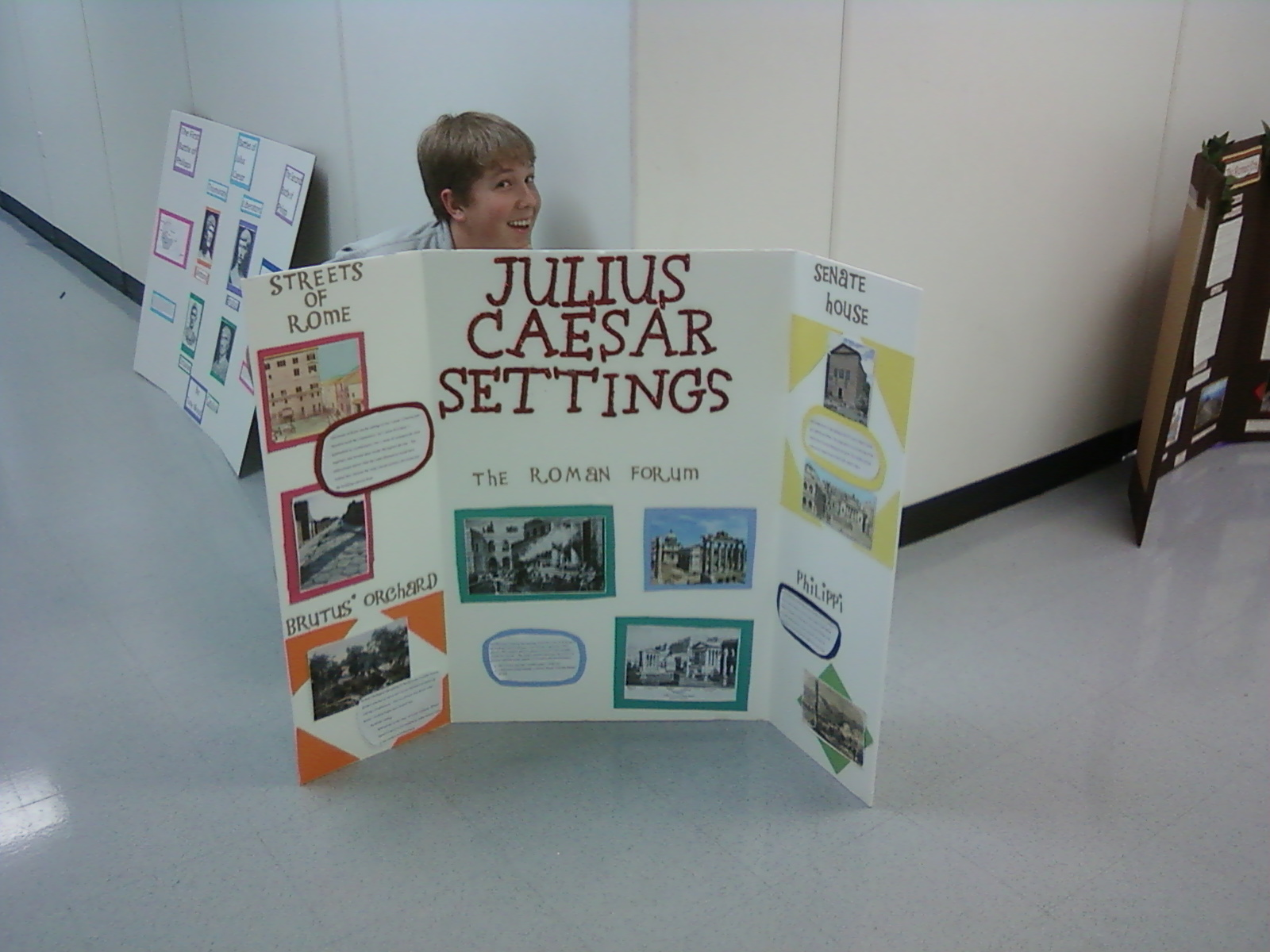 julius caesar projects This grade 10 mini-assessment is based on an excerpt from julius caesar, act iii,  scene ii by william  .