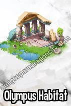 imagen del premio del primer segmento de la isla olimpus de dragon city
