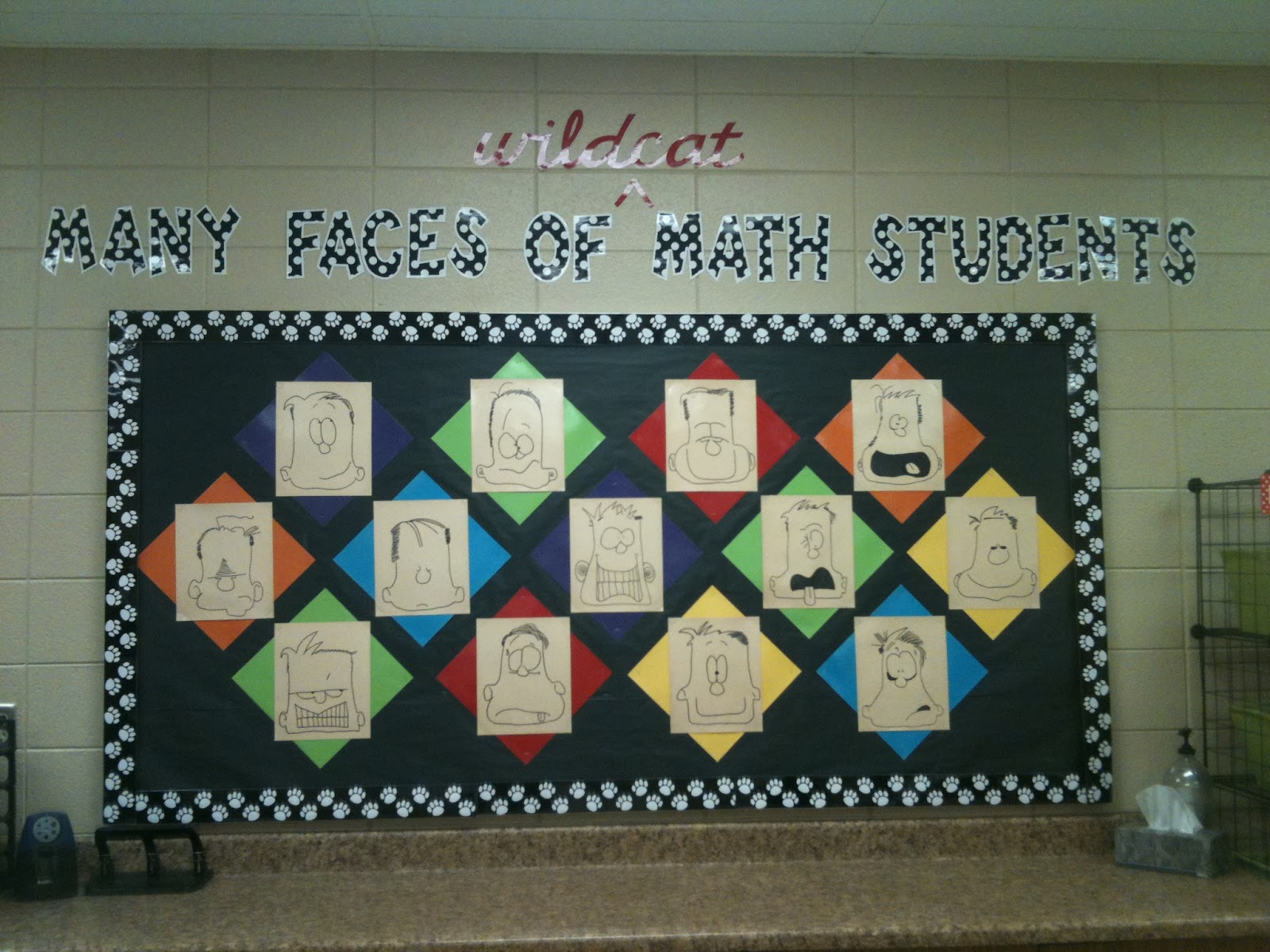 Classroom Decorating Ideas Middle School Math ~ Mrs tilmon says classroom bulletin board ideas