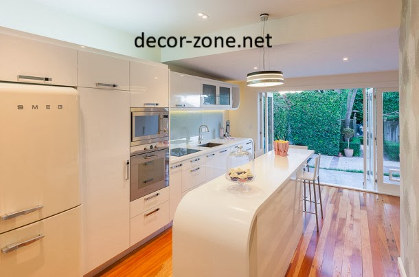 kitchen breakfast bar materials, acrylic kitchen bar countertop
