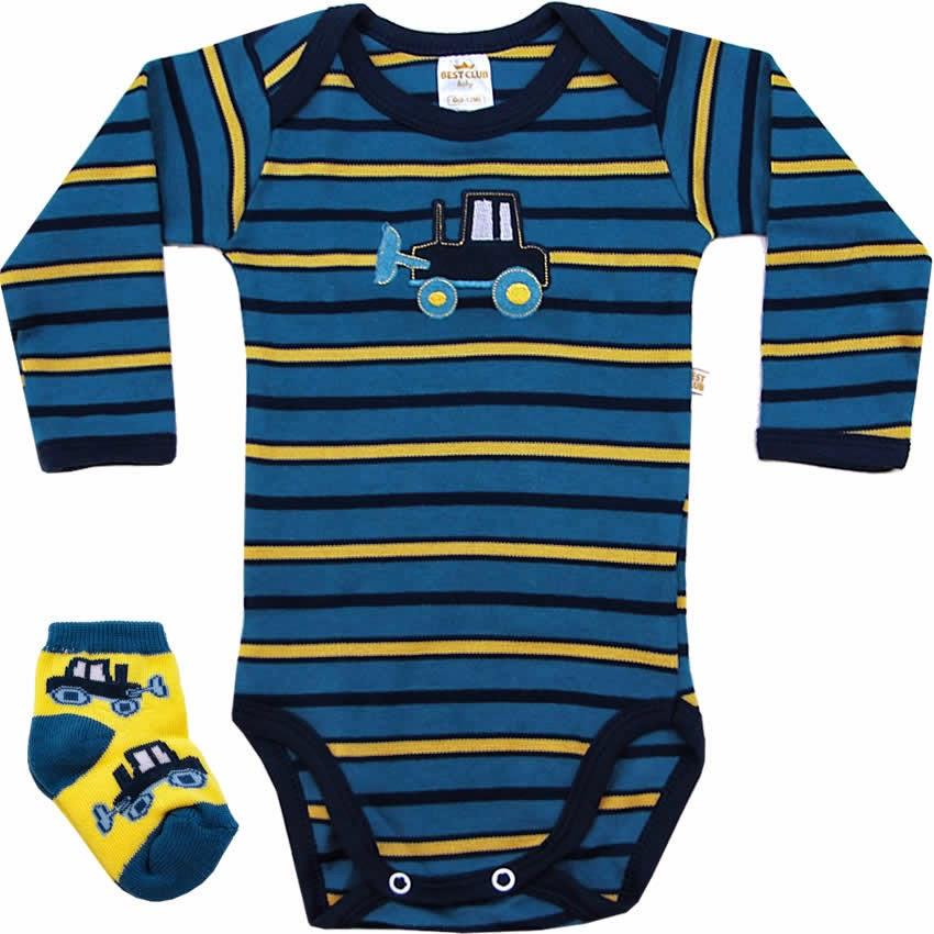 100 Bodies de Bebê para menino e menina