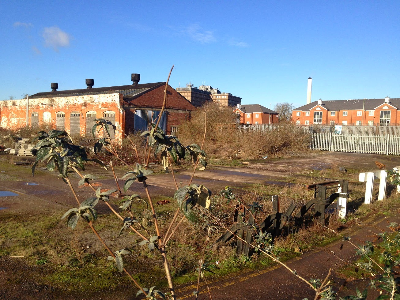 Former engine shed and railway sidings, Gloucester