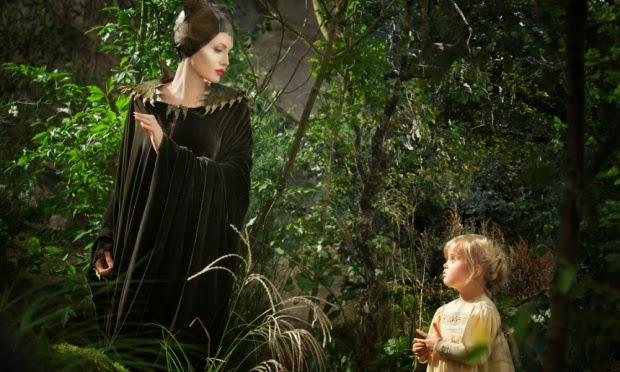 Em Malévola, Angelina Jolie contracenou com a sua filha, Vivienne