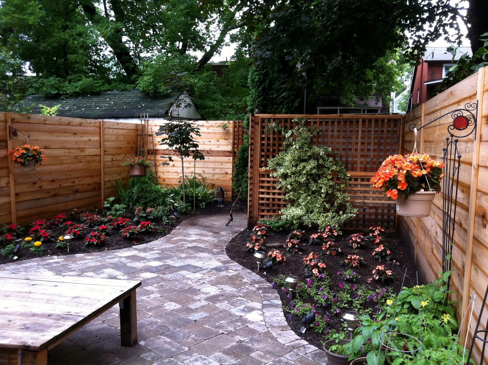 Narrow Backyard Landscaping Ideas Various