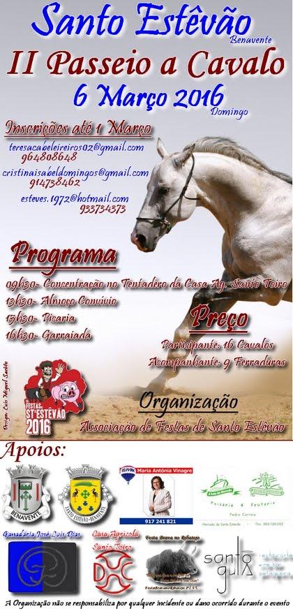 Stº Estêvão(Benavente)- II Passeio a Cavalo