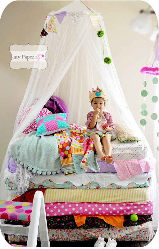 princess and the pea bed. Princess And The Pea Party Bed